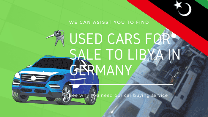 Used Cars For Sale To Libya In Germany