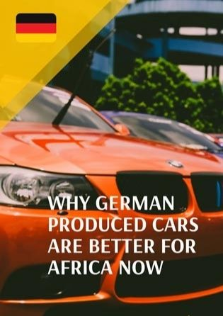 German Cars Better For Africa Now