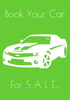 Book Your Car For Sale