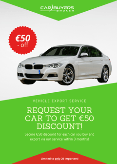 Import Your Car From Germany 70 Euro Off Price