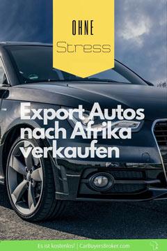 Export Autos nach Afrika zu verkaufen