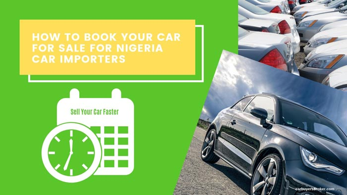 How To Book Your Car For Sale In Nigeria