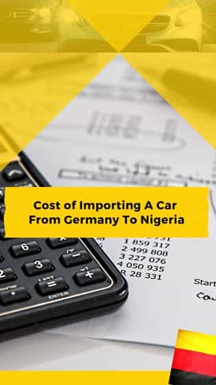 cost of importing car from germany