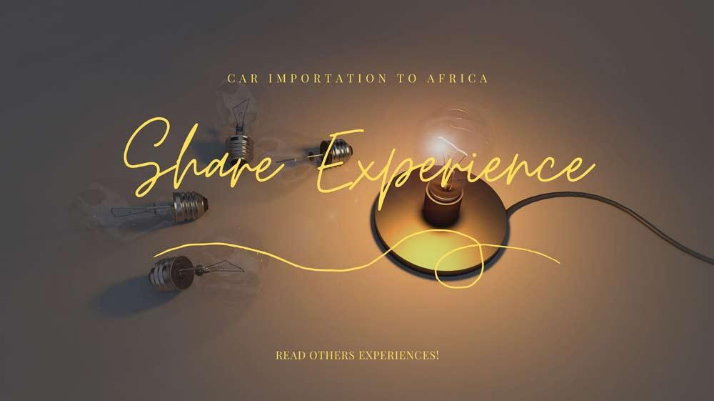 share car importation experience